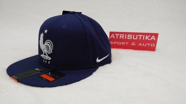 !! РАСПРОДАЖА !! Бейсболка СБ Франция 2015-16 Nike т.-синяя, арт.15589