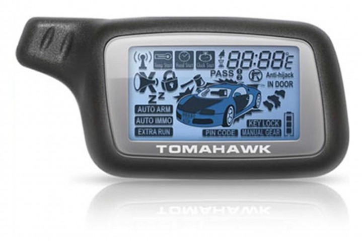 Брелок для а/с Tomahawk X3/X5 (ж/к)