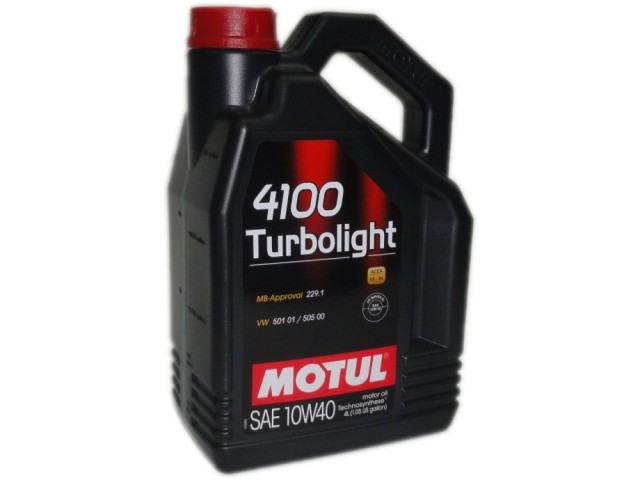 Моторное масло Motul 4100 Turbolight 10w40 4л - фото 6