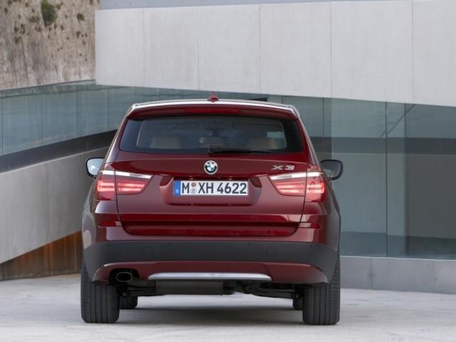 BMW X3 (2010-н.в.) F25