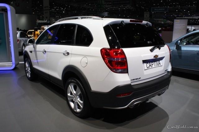 Chevrolet Captiva (2012-н.в.)