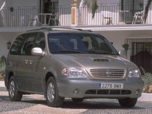 Kia Carnival I (1998-2006)