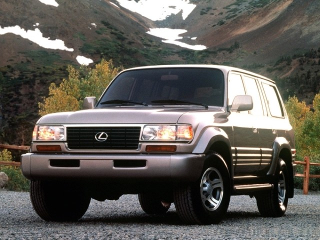 Lexus LX серии I (1996-1998) FZJ80