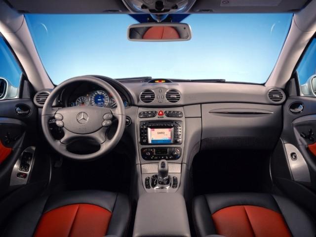 Mercedes Benz CLK класс (2002-2009) 209