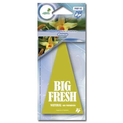 Ароматизатор пластинка Big Fresh PABF-92 (ваниль)