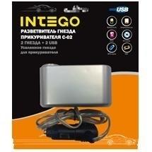 Разветвитель Intego C-02 (USB, 2 гн.)