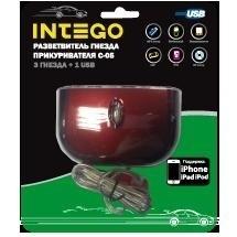 Разветвитель Intego C-05 (USB, 3 гн.)