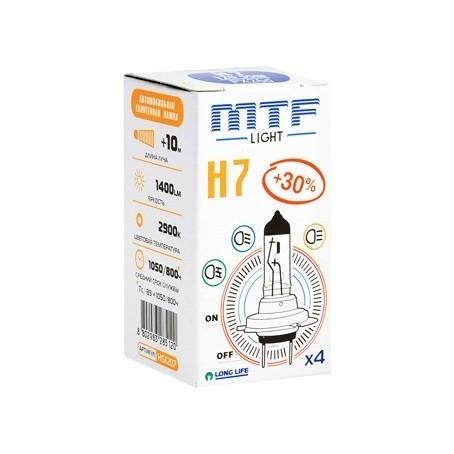 Лампа MTF Standart +30% H7 (12 V, 55 W)