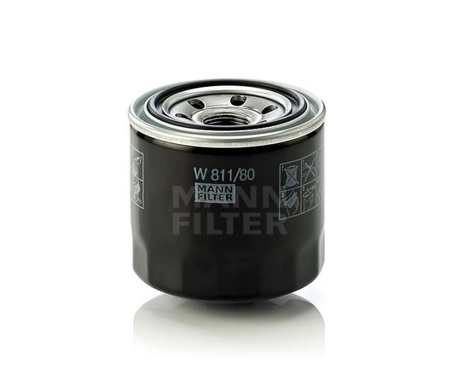 Фильтр масляный MANN-FILTER W 811/80