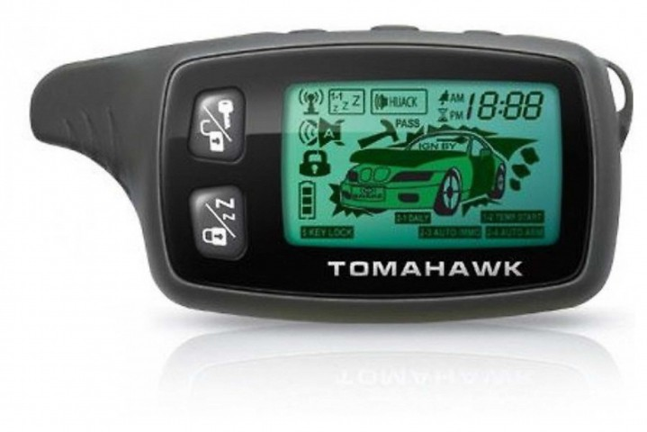 Брелок для а/с Tomahawk TW-9020/9030 New (ж/к)