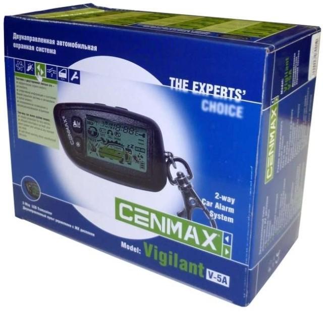 Автосигнализация Cenmax Vigilant V-5А (об/с)
