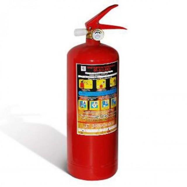 Огнетушитель порошковый ОП-2 (2 кг)