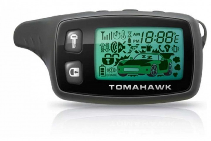 Брелок для автосигнализации Tomahawk TW-9010 New