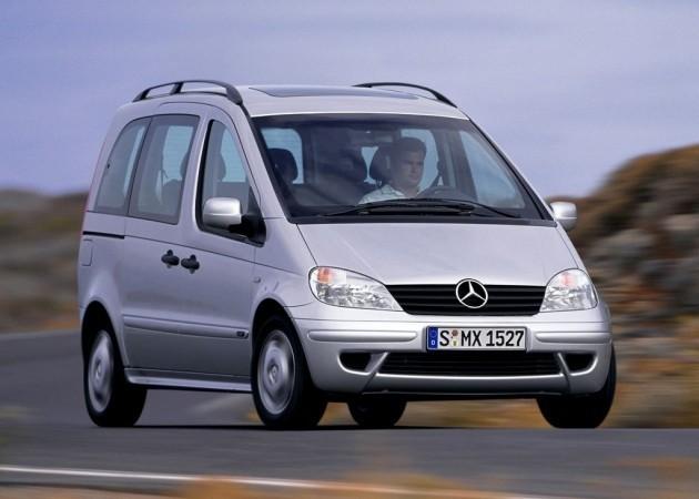 Mercedes Benz Vaneo (2002–2006) W414
