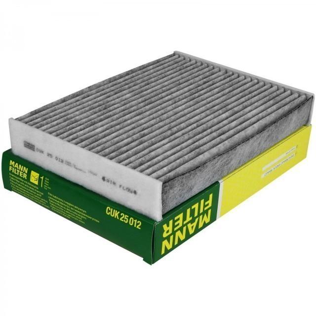Фильтр салонный MANN-FILTER CUK 25 012 угольный