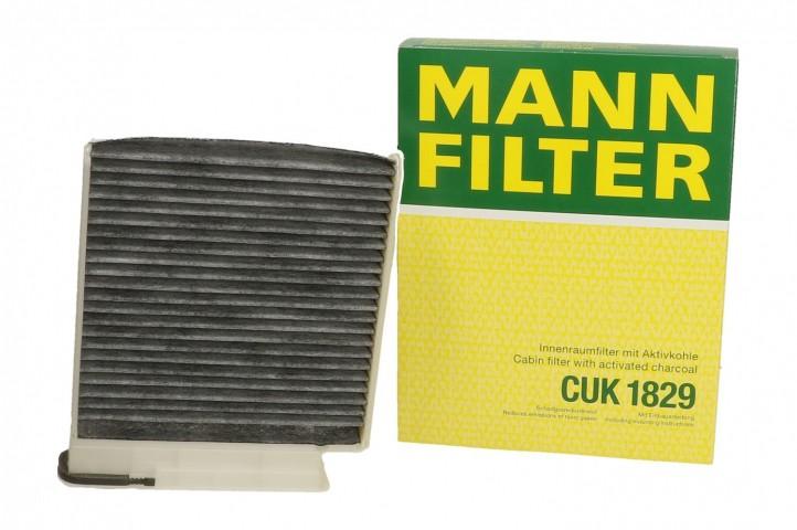 Фильтр салонный MANN-FILTER CUK 1829 угольный