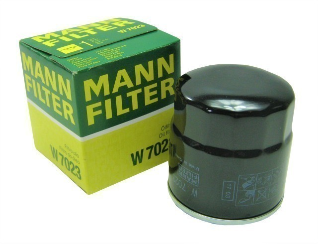 Фильтр масляный MANN-FILTER W 7023