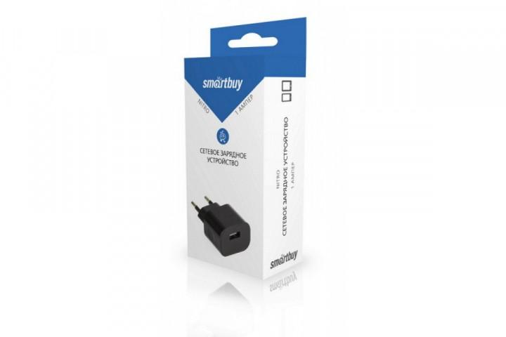 Адаптер Smartbuy 1001 Nitro (1 USB, черный)