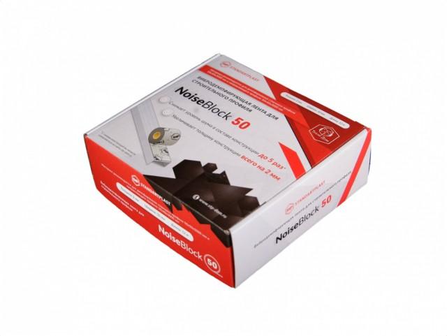 STP NoiseBlock 50 вибролента для профиля (50 мм, 12 м)