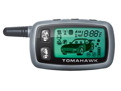 Брелок для а/с Tomahawk TW-9000/9010 (ж/к, старый корпус)