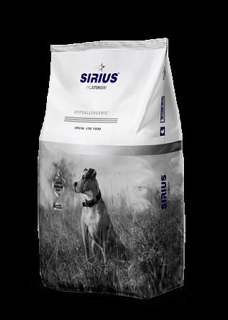 Сухой корм для собак Sirius Platinum, утка с овощами (3 кг)