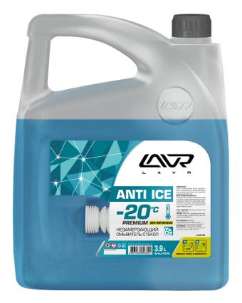 Lavr Ln1314 Незамерзающий очиститель стекол Anti-Ice Premium (-20°C, 3,9 л)