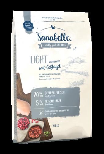 Сухой корм для кошек Sanabelle Light NEW, 10 кг
