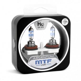 Лампы MTF Argentum +130% H8 (12 V, 35 W, 2 шт)