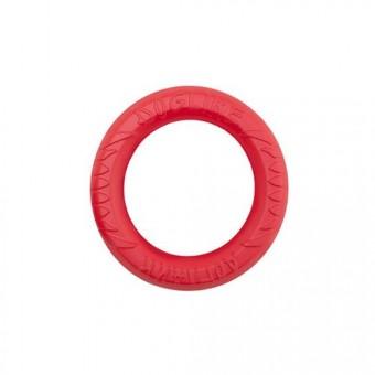 Игрушка DogLike Кольцо восьмигранное (коралловое, диаметр 12,0 см)