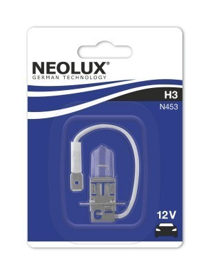 Лампа Neolux H3 Standart (12 В, 55 Вт, блистер)