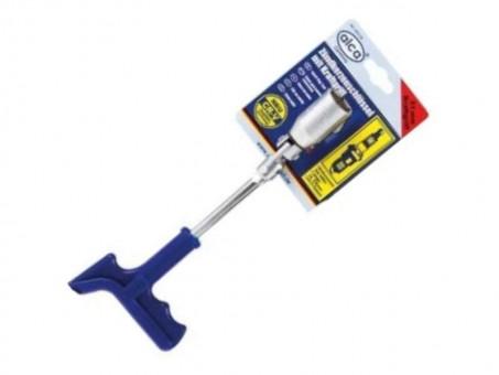 Ключ свечной Alca 421210 Т-образный (21 мм, усиленный)