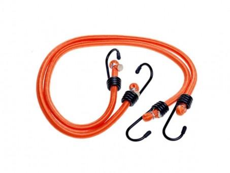 Стяжки-резинки AirLine 2 шт (2x60 см, метал. крючки)