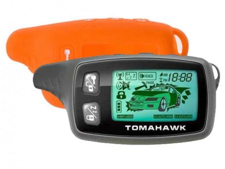 Чехол силиконовый Tomahawk TW-9010/9020/9030 (оранжевый)