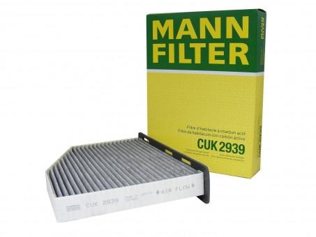 Фильтр салонный MANN-FILTER CUK 2939 угольный