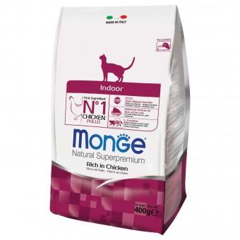Сухой корм для кошек Monge Daily Line - Indoor (400 г)