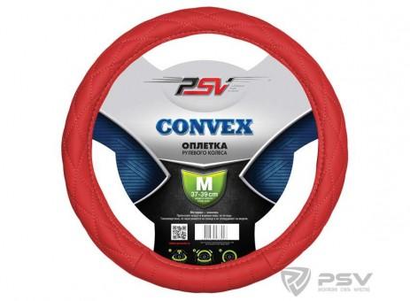 Оплетка руля PSV Convex (красная)