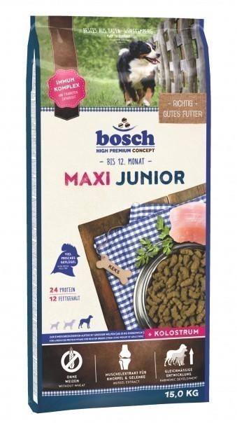 Сухой корм для собак Bosch Maxi Junior, 15 кг
