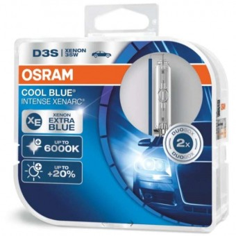 Ксеноновые лампы Osram D3S Xenarc Cool Blue Intense 6000K (2 шт)