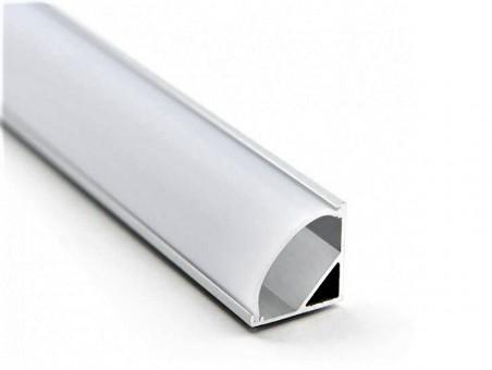 Профиль для светодиодной ленты (угловой, 16x16 мм, 2 м)