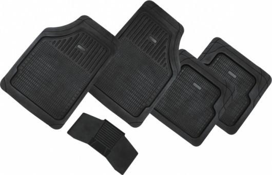 Коврики салонные универсальные Автопилот HX6003 (черные, 5 шт)