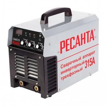 Сварочный аппарат инверторный Ресанта САИ 315 (трехфазный)
