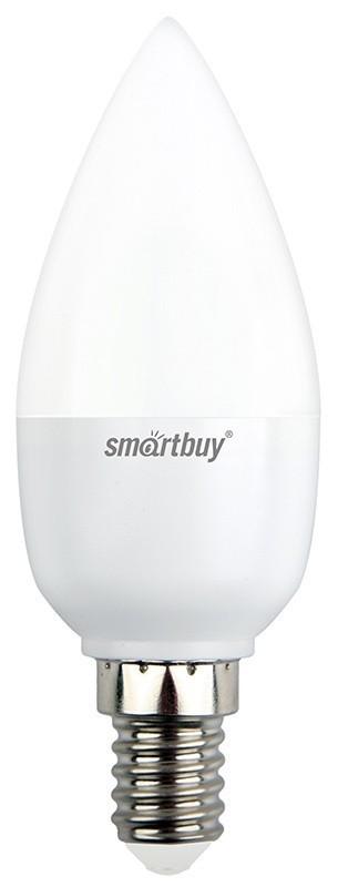 Лампа Smartbuy С37 7W 3000K E14 (500 Лм, свеча)