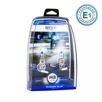 Лампы MTF Dynamic Blue H3 (12 V, 55 W, 2 шт)