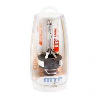 Ксеноновая лампа MTF D4S 4300K