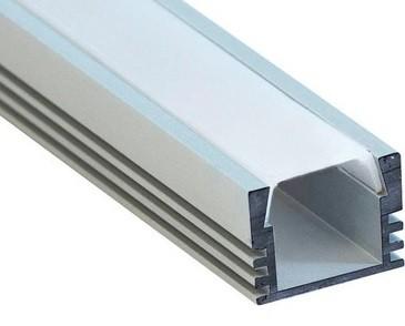 Профиль для светодиодной ленты (накладной, 16x12 мм, 2 м)
