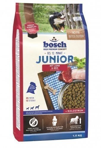 Сухой корм для собак Bosch Junior, ягнёнок и рис, 1 кг
