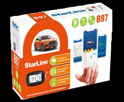 Автосигнализация StarLine B97 3CAN+4LIN GSM-LTE (а/з)