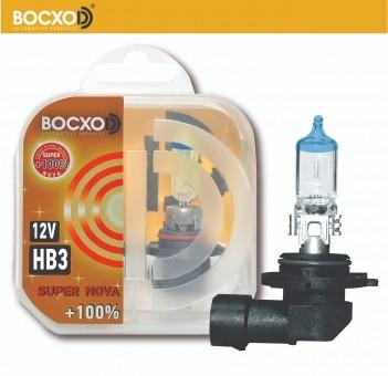 Автолампа BOCXOD HB3 Super Nova (60W, 12V, 80903 SN, +100%)