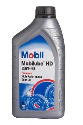 Масло трансмиссионное Mobil Mobilube HD 80W90 (1 л)