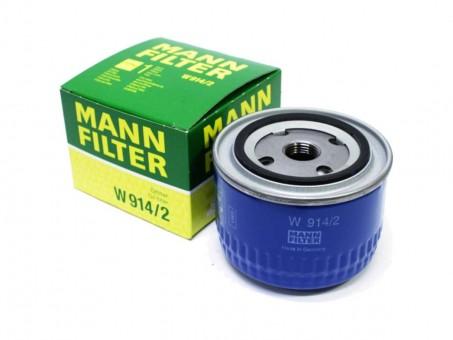 Фильтр масляный MANN-FILTER W 914/2